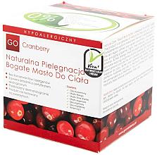 Düfte, Parfümerie und Kosmetik Nährendes Körperöl mit Moosbeerextrakt - GoCranberry