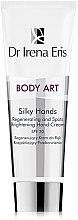 Düfte, Parfümerie und Kosmetik Regenerierende und aufhellende Handcreme SPF 20 - Dr Irena Eris Body Art Silky Hands