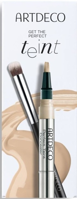 Make-up Set - Artdeco Get The Perfect Teint (Concealer 1.8ml + Pinsel 1St.) — Bild N1
