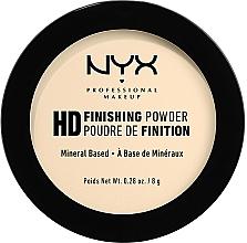 Düfte, Parfümerie und Kosmetik Mattierender langanhaltender Puder - NYX Professional Makeup High Definition Finishing Powder