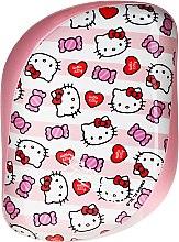 Düfte, Parfümerie und Kosmetik Kompakte Haarbürste - Tangle Teezer Compact Styler Hello Kitty