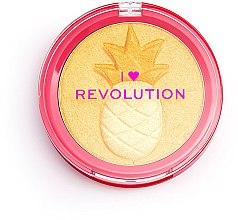 Düfte, Parfümerie und Kosmetik Highlighter - I Heart Revolution Fruity Highlighter Pineapple