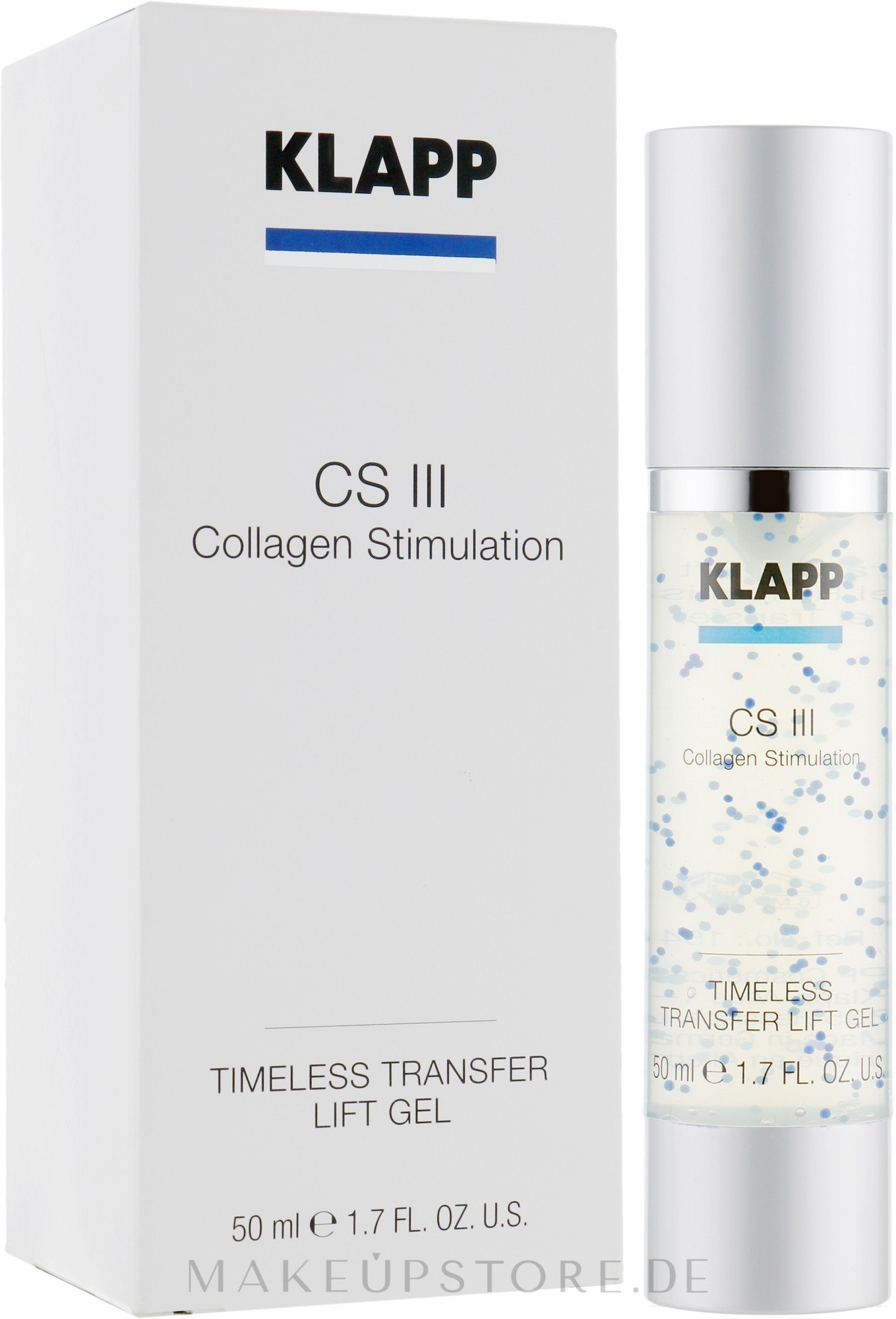 Liftinggel für das Gesicht mit Kollagen - Klapp Collagen CSIII Concentrate Transfer Lift — Bild 50 ml