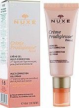Düfte, Parfümerie und Kosmetik Korrigierende Gel-Creme für normale bis Mischhaut mit Jasmin - Nuxe Creme Prodigieuse Boost Multi-Correction Gel Cream