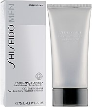 After Shave Gel - Shiseido Men Energizing Formula Gel  — Bild N1