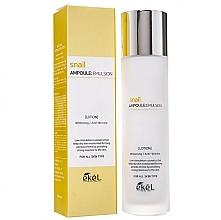 Düfte, Parfümerie und Kosmetik Aufhellende und feuchtigkeitsspendende Anti-Falten Gesichtsemulsion mit Schneckenschleimextrakt - Ekel Snail Ampoule Emulsion