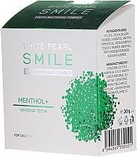Düfte, Parfümerie und Kosmetik Aufhellendes Zahnpulver mit Menthol - VitalCare White Pearl Smile Tooth Whitening Powder Menthol+