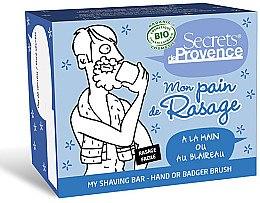 Düfte, Parfümerie und Kosmetik Rasierseife für Herren - Secrets De Provence My Shaving Bar Hand Or Badger Brush
