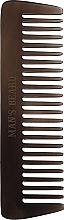 Düfte, Parfümerie und Kosmetik Bartkamm MB203 dunkelbraun - Man'S Beard Horn Comb