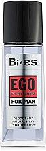 Düfte, Parfümerie und Kosmetik Bi-Es Ego Platinum - Parfümiertes Körperspray