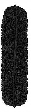 Haarroller 150 mm schwarz - Lussoni Hair Bun Roll Black — Bild N1