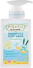 Düfte, Parfümerie und Kosmetik Kinder Duschgel und Shampoo 2in1 - Jack N' Jill Simplicity Shampoo & Body Wash