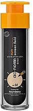 Düfte, Parfümerie und Kosmetik Getöntes Sonnenschutzfluid für zu Akne neigende Haut SPF 50+ - Frezyderm Ac-Norm Active Sun Screen Tinted Fluid Spf50+