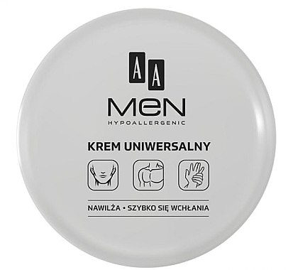 Feuchtigkeitsspendende Universalcreme - AA Men Universal Cream — Bild N1