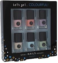 Düfte, Parfümerie und Kosmetik Nagellack-Set 6x5ml - Cosmetic 2K Let's Get Colourful! Pastels Nail Polish