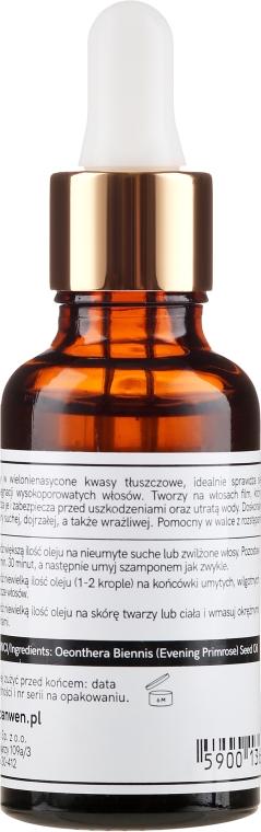 Nachtkerzenöl für das Haar - Anwen — Bild N2