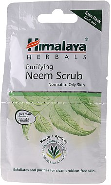 Gesichtspeeling mit Neem für normale bis fettige Haut - Himalaya Herbals Purifying Neem Scrub — Bild N3