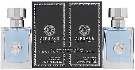 Versace Versace Pour Homme - Duftset (Eau de Toilette/30ml + Eau de Toilette/30ml) — Bild N1
