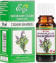 Düfte, Parfümerie und Kosmetik 100% Natürliches ätherisches Salbei-Öl - Etja Natural Essential Oil