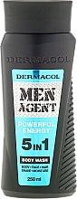 Düfte, Parfümerie und Kosmetik Duschgel - Dermacol Men Agent Powerful Energy 5in1 Body Was