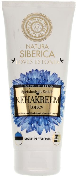 Pflegende Körpercreme - Natura Siberica Loves Estonia Body Cream — Bild N1