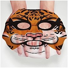 Tuchmaske für samtige Geschmeidigkeit - Bioaqua Animal Tiger Supple Mask — Bild N3
