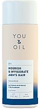 Düfte, Parfümerie und Kosmetik Nährendes und belebendes Shampoo für Männer - You&Oil Nourish & Invigorate Men's Hair Shampoo