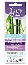 Düfte, Parfümerie und Kosmetik Revitalisierendes Shampoo für gefärbtes und graues Haar mit Bambus - Celia