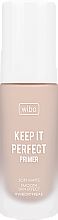 Düfte, Parfümerie und Kosmetik Gesichtsprimer - Wibo Keep It Perfect Soft Matte