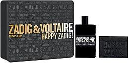 Düfte, Parfümerie und Kosmetik Zadig & Voltaire This is Him - Duftset (Eau de Toilette 100ml + Geldbörse)