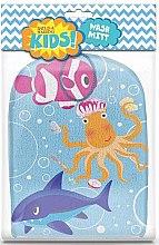 Düfte, Parfümerie und Kosmetik Waschlappen-Handschuh - Kids Wash Mitt Aquatic Print