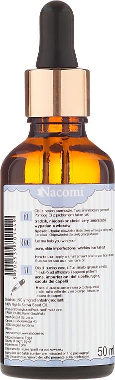 Schwarzkümmelöl für den Körper - Nacomi Black Seed Oil — Bild N2