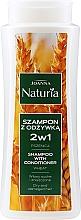 Düfte, Parfümerie und Kosmetik 2in1 Shampoo & Conditioner für trockenes uns strapaziertes Haar mit Weizenextrakt - Joanna Naturia Shampoo With Conditioner With Wheat