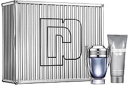 Düfte, Parfümerie und Kosmetik Paco Rabanne Invictus - Duftset (Eau de Toilette 100ml + Schaumgel 100ml)