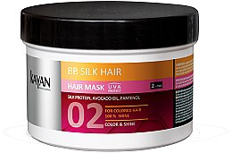 Düfte, Parfümerie und Kosmetik Haarmaske für coloriertes Haar - Kayan Professional BB Silk Hair Mask
