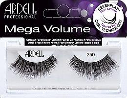 Düfte, Parfümerie und Kosmetik Künstliche Wimpern - Ardell Mega Volume 250 Black