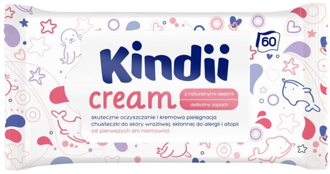 Feuchttücher für Kinder 60 St. - Kindii Cream — Bild N1