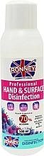 Düfte, Parfümerie und Kosmetik Antibakterielles Händedesinfektionsmittel - Ronney Professional Hand & Surface Disinfection