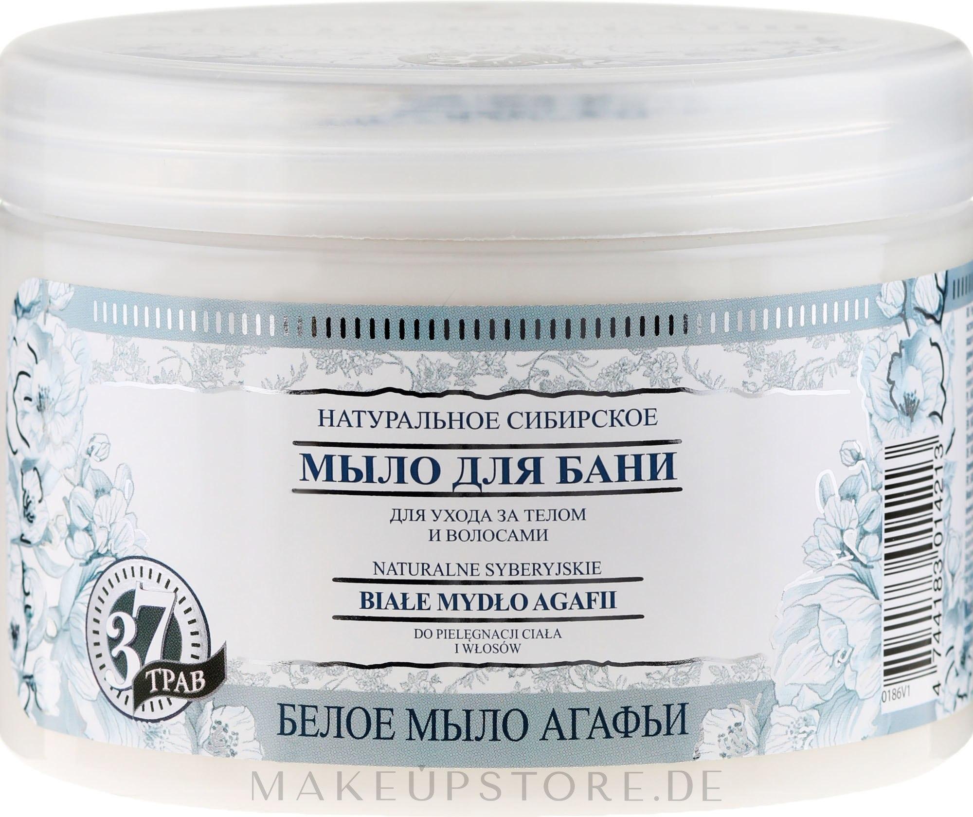 Natürliche sibirische Badeseife - Rezepte der Oma Agafja — Bild 500 ml