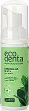 Düfte, Parfümerie und Kosmetik Erfrischender Mundschaum mit Pfefferminzöl, Salbeiextrakt und natürlichem Betain - Ecodenta Mouthwash Refreshing Oral Care Foam