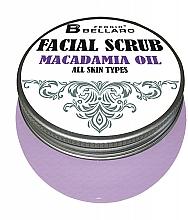 Düfte, Parfümerie und Kosmetik Gesichtspeeling für alle Hauttypen mit Macadamiaöl - Fergio Bellaro Facial Scrub