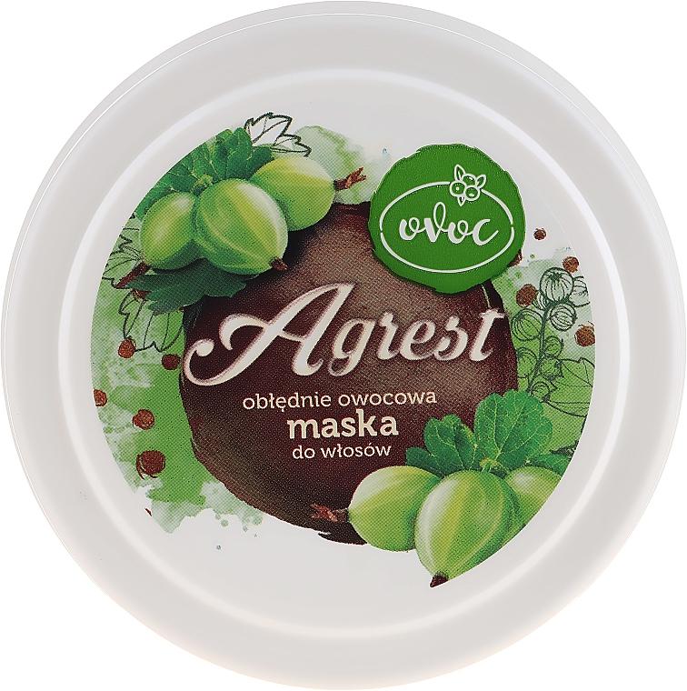 Haarmaske mit Extrakt aus Feigen, Algen und Sheabutter - Ovoc Agrest Mask — Bild N1