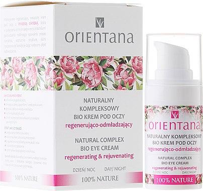Augencreme - Orientana Bio Eye Cream Regenerating & Rejuvenating — Bild N1