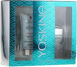 Düfte, Parfümerie und Kosmetik Gesichtspflegeset - Yoskine Okinava Green Caviar 60+ (Gesichtscreme 50ml + Gesichtspeeling 75ml)