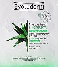 Düfte, Parfümerie und Kosmetik Feuchtigkeitsspendende Gesichtsmaske - Evoluderm Moisturizing Sheet Mask