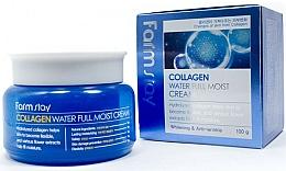 Düfte, Parfümerie und Kosmetik Feuchtigkeitsspendende Gesichtscreme gegen Falten mit Kollagen - FarmStay Collagen Water Full Moist Cream