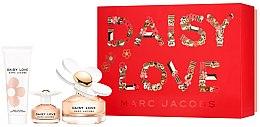 Düfte, Parfümerie und Kosmetik Marc Jacobs Daisy Love - Duftset (Eau de Toilette 100ml + Eau de Toilette 4ml + Körperlotion 75ml)