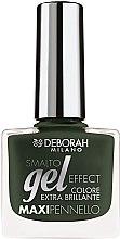Düfte, Parfümerie und Kosmetik Nagellack - Deborah Gel Effect Nail Enamel