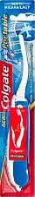 Düfte, Parfümerie und Kosmetik Klappbare Zahnbürste weich blau-weiß - Colgate Portable Travel Soft Toothbrush