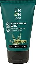 Düfte, Parfümerie und Kosmetik Feuchtigkeitsspendender After Shave Balsam mit Hanf und Hopfen - GRN Gentlemen's Organic Hemp & Hop After-Shave Balm